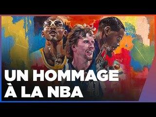 NBA 2K22 - DE L'ART AU JEU - Interview de Charly Palmer