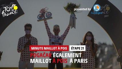 #TDF2021 - Étape 21 / Stage 21 - E.Leclerc Polka Dot Jersey Minute / Minute Maillot à Pois