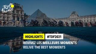 #TDF2021 - Highlights of the Race / Best-of de la course !