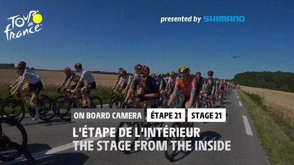#TDF2021 - Étape 21 / Stage 21 - Onboard Camera / Caméra Embarquée
