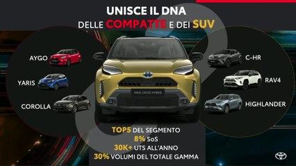 Presentazione stampa nuova Toyota Yaris Cross Hybrid
