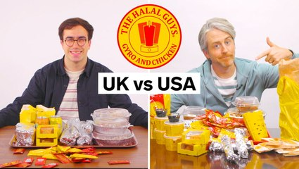We compared the differences between US vs UK The Halal Guys