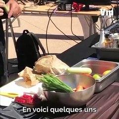 Le chef Stephan Miso propose des démonstrations culinaires pour mieux manger