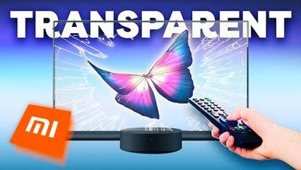 Une TV OLED TRANSPARENTE à 6500€ : Xiaomi INNOVE encore une fois !
