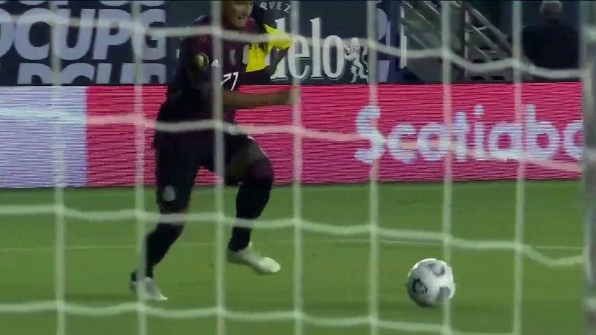 Mexico 1-0 El Salvadoro - Highlights Gold Cup 18-07- 2021