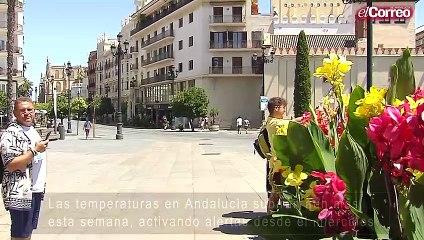 Las temperaturas en Andalucía subirán aún más esta semana