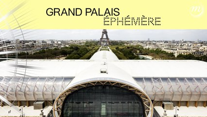 Le Grand Palais Éphémère a ouvert ses portes !