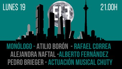 Juan Carlos Monedero: Latinoamérica - En la Frontera, 19 de julio de 2021
