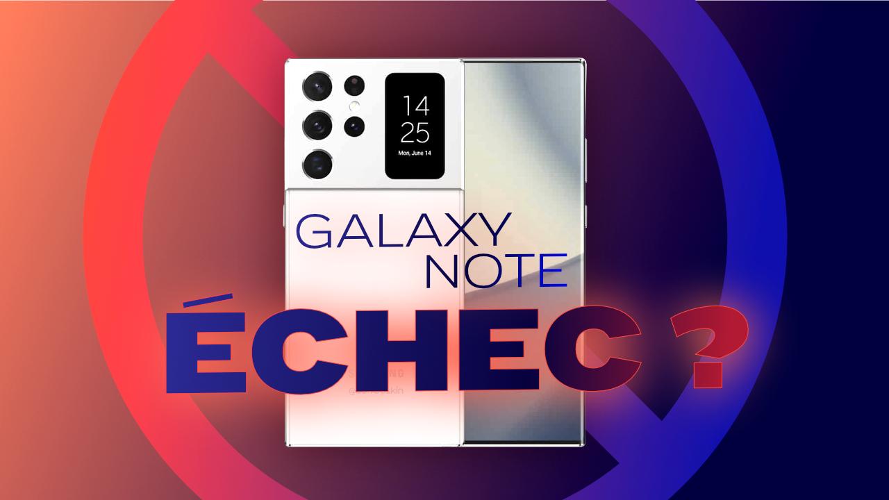 Samsung semble lâcher l'affaire avec ses Galaxy Note !