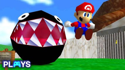 The Best Level From Every Mario Game