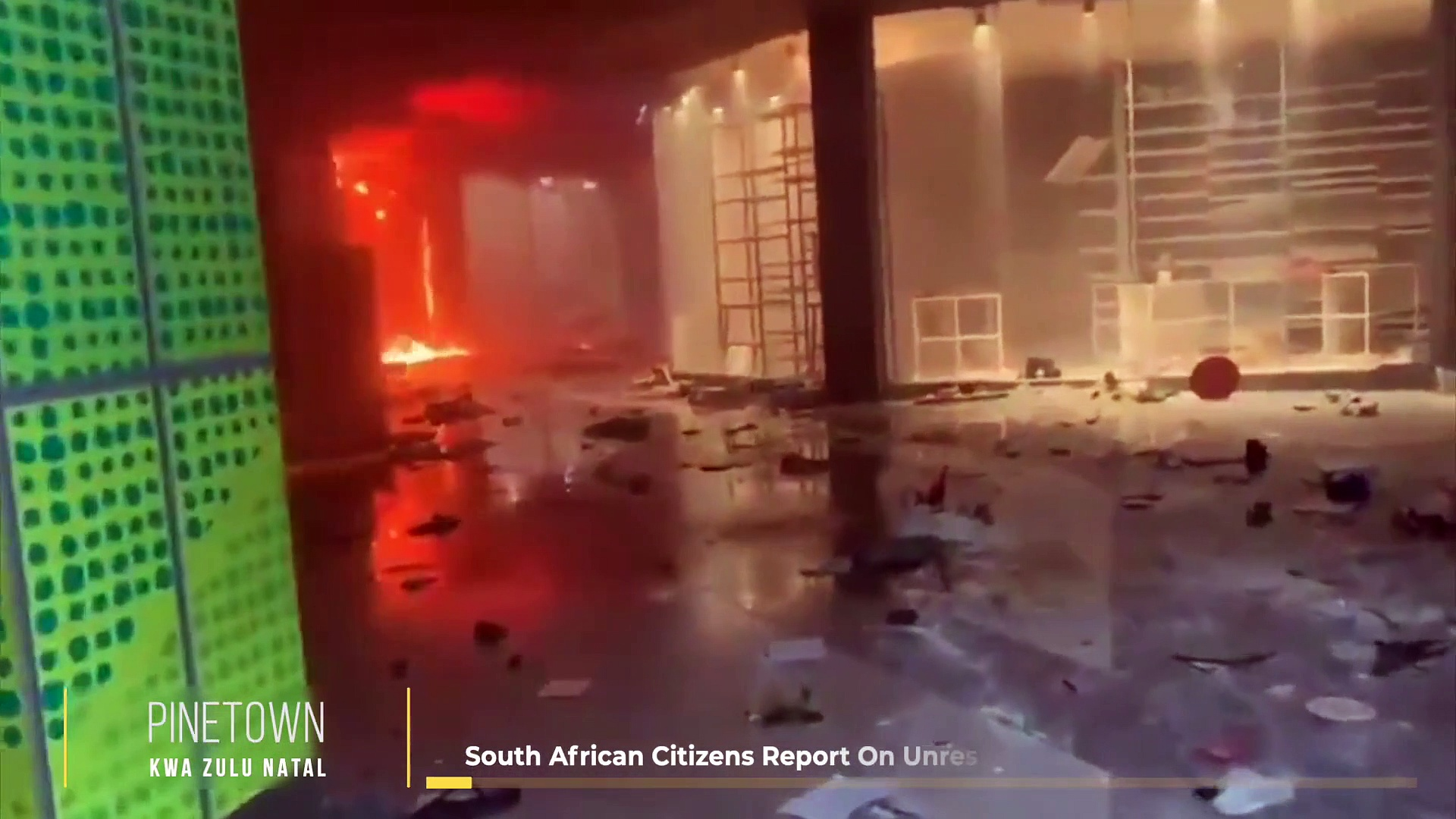 South African Citizens Report On Unrest _ News South Africa