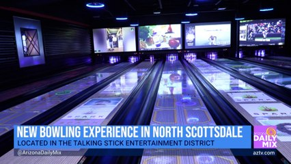 It's Bowling, Games, Food and Fun at Mavrix in North Scottsdale!