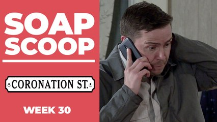 Coronation Street Soap Scoop! Todd is caught out