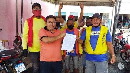 Após áudio da prefeita vazar na sessão, vereadores reprovam auxílio para mototaxistas de Uiraúna