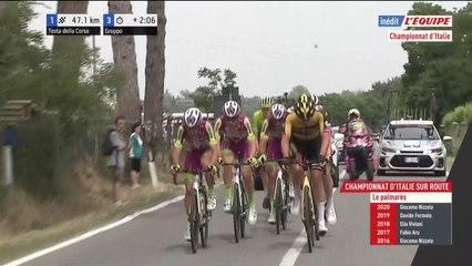 Cyclisme sur route -  : Le replay des championnats d'Italie