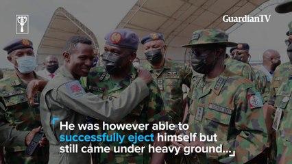 How hero fighter jet pilot Abayomi Dairo survived bandit shut down