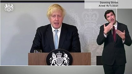 Boris Johnson says access to nightclubs and large capacity venues will require double-jab