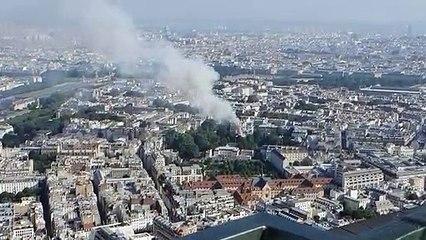 Paris : un incendie juste derrière l'hôtel de Matignon
