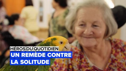 Thérapie animale : aider les personnes âgées