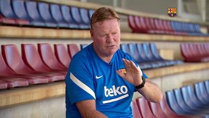 Koeman on Messi, Aguero and the season ahead