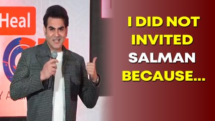 Arbaaz Khan reveals why he did not invited Salman Khan to the first season of his chat show