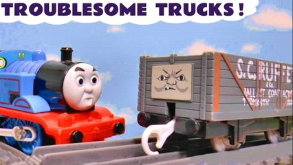 Thomas and Friends Troublesome Trucks Pranks with the Funny Funlings in this Stop Motion Animation Toys Family Friendly Full Episode English Video for Kids from Kid Friendly Family Channel Toy Trains 4U