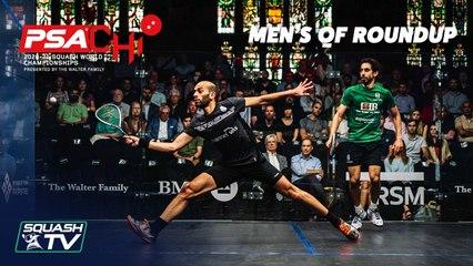 Squash: PSA World Championships 2020-21 - Men's QF Roundup [Pt.1]