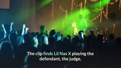 Lil Nas X Puts Himself on Trial for Satan Shoes in Teaser for New Song