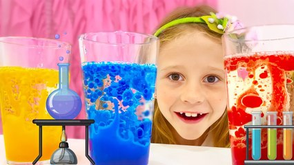 Nastya is learning how to become a good scientist. Еducational video for children