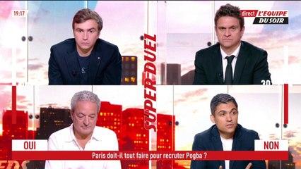 Le Paris Saint-Germain doit-il tout faire pour recruter Paul Pogba ? - L'Équipe du Soir - extrait