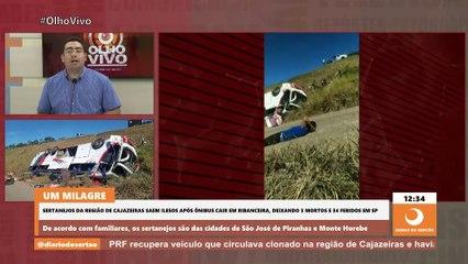 Sobreviventes de trágico acidente de ônibus já estão a caminho de São José de Piranhas e Horebe