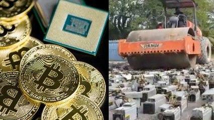 Curi Listrik, Mesin-Mesin Bitcoin ini Digilas
