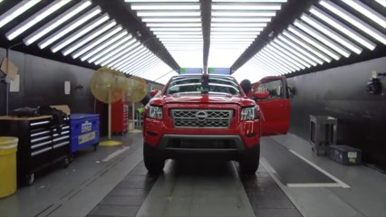 Nissan Frontier Production line