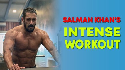 Salman Khan shares glimpses of his intense training session for 'Tiger 3'
