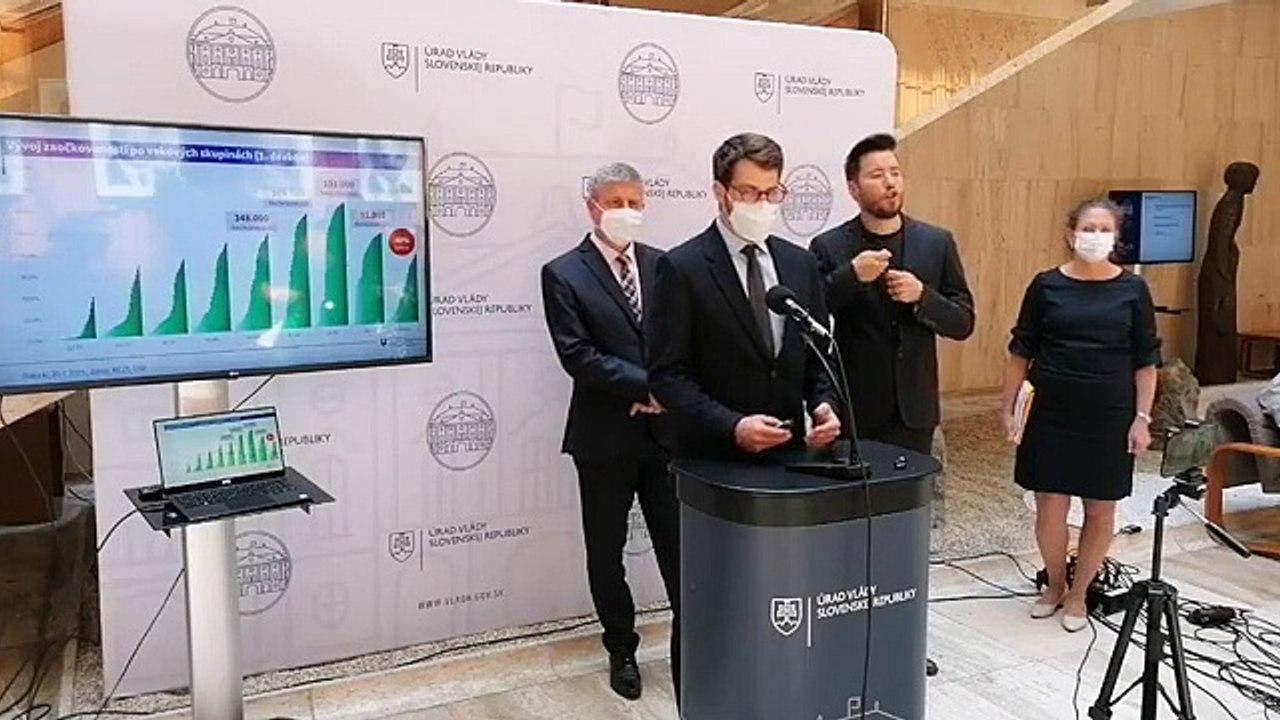 ZÁZNAM: Brífing ministra zdravotníctva V. Lengvarského