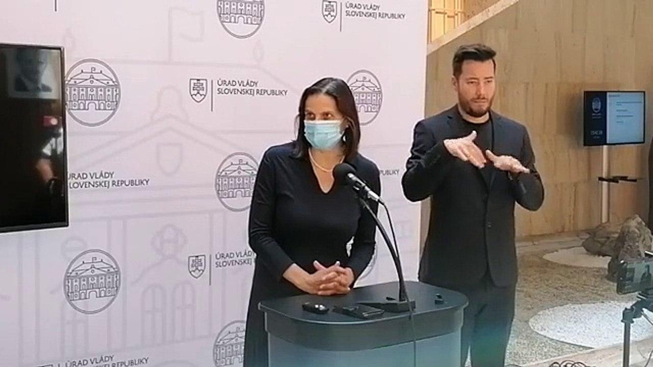 ZÁZNAM: Brífing ministerky spravodlivosti M. Kolíkovej