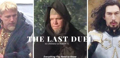 The Last Duel Trailer 10/15/2021