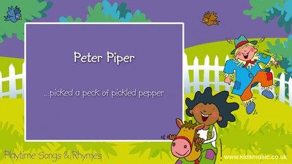 Kidzone - Peter Piper
