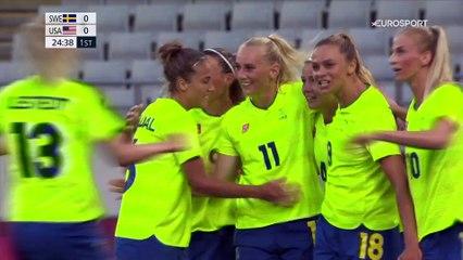 Surprise ! Les Américaines battues d'entrée par la Suède