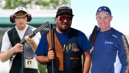 Who are Team GB's trap shooters up against?