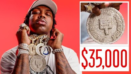 EST Gee Shows Off His Insane Jewelry Collection