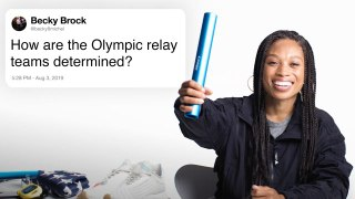 Allyson Felix Answers Track Questions From Twitter