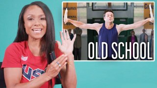 Olympian Dominique Dawes Breaks Down Gymnastics Scenes from Movies