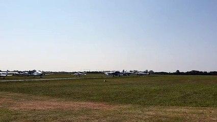 Beaucoup d'activité sur l'aérodrome de Saint-Pierre-D'oléron