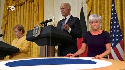Германия и США договорились по Северному потоку-2? Что теперь будет с Украиной? DW Новости (21.07.2021)