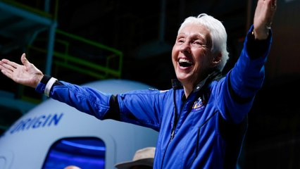 82-Year-Old Achieves Lifelong Dream of Going to Space