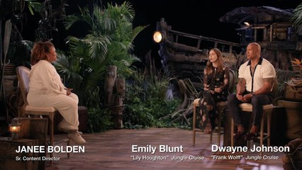 """""""Jungle Cruise"""" Star The Rock Jokes Scariest Part Was Emily Blunt """"Without Makeup"""""""