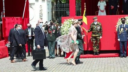 Fête nationale: des images inédites du défilé