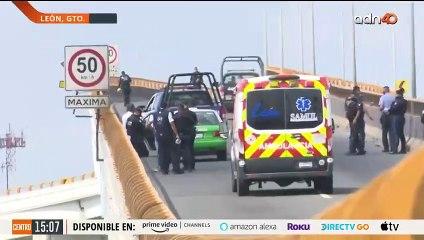 Atacan a balazos a tripulantes de un taxi en León