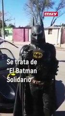 La caída de Batman: choca su batimovil en Argentina y se vuelve viral